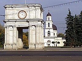 Арка молдовей в кишиневе продвижение сайта в химках