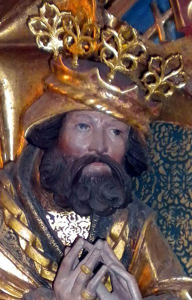 Fil:Christian II of Denmark, Norway & Sweden sculpture c 1530 (photo 2009) crop.jpg