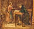 Christian Olavius Zeuthen - Søren Kierkegaard som café-gæst - 1843.png