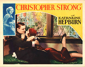 Description de l'image Christopher Strong lobby card.JPG.