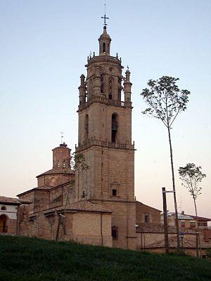 Los Arcos - Church of Santa Maria