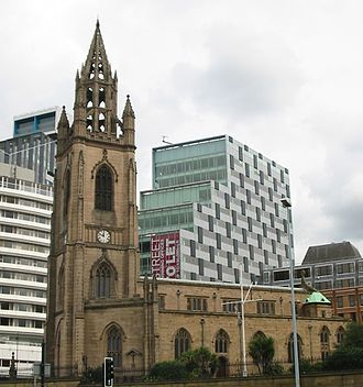 Church of Our Lady and Saint Nicholas, Liverpool - Image: Church of Our Lady and Saint Nicholas, Liverpool 2