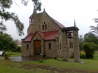 Cathcart, Eastern Cape - Church of Saint Alban at Cathcart in the Eastern Cape South Africa on the road to Aliwal North.