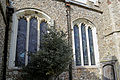 Church of St Mary Hatfield Broad Oak Essex England - south aisle central windows.jpg