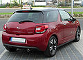 Citroën DS3 VTi 120 Airdream SoChic rear 20100425.jpg
