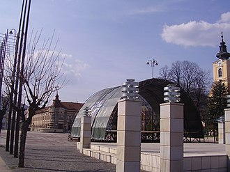 Brezno - Image: City centre brezno 4