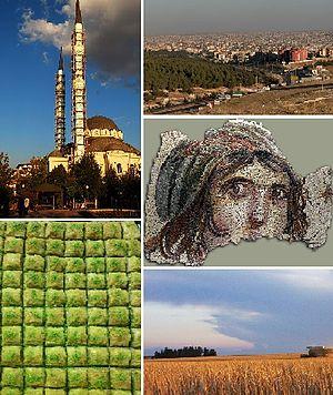 Gaziantep Province - Image: City of Gaziantep collage
