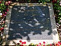 City of London Cemetery - Bobby Moore grave plaque in the Memorial Gardens.jpg