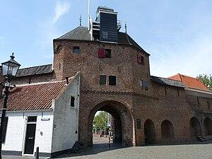Vischpoort - Cityside view of the Vischpoort