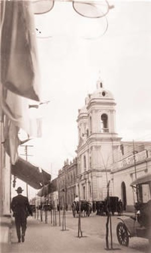 San Juan, Argentina - Downtown San Juan, around 1910.