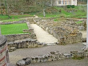 Clairefontaine Abbey - Ruins of the Abbey