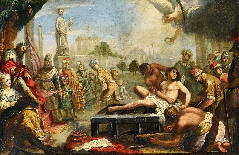 File:Claude Vignon - The Martyrdom of Saint Lawrence.jpg