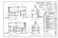 Claus Rittenhouse House, Lincoln Drive and Rittenhouse Street, Philadelphia, Philadelphia County, PA HABS PA,51-GERM,78- (sheet 3 of 7).png