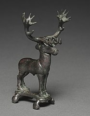 Stag Poletop