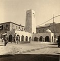 Clock-tower removed from Jaffa Gate to Allenby square being torn down. 1934 (ppmsca.17162-00043).jpg