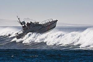 47-foot Motor Lifeboat - Image: Coast Guard Boat in Morro Bay