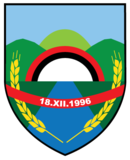 Coat of arms of Čegrane Municipality.png