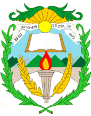 Chiquimula Department - Image: Coat of arms of Chiquimula
