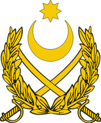 Ministry of Defense of the Republic of Azerbaijan - Coat of arms of Azerbaijani Land Forces