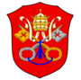 Coat of arms of the Papal States (15th–19th cent.) Coat of arms of the Papal State (sede vacante) of Papal States