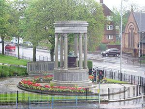 Edith Hughes (architect) - Coatbridge War Memorial (1924)