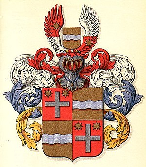 Maase (noble family) - Image: Coatofarms von der Maase