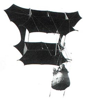 Samuel Franklin Cody - Man-lifter War Kite designed by Samuel Franklin Cody