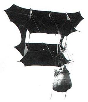 Man-lifting kite - Man-lifter War Kite designed by Samuel Franklin Cody (1867–1913).