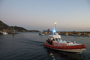 Corps of the Port Captaincies – Coast Guard -  Costa Concordia and Coast Guard