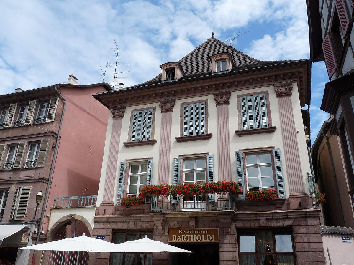 Maison au 4 rue des Boulangersà Colmar u2014 Wikipédia # Au Four A Bois Colmar