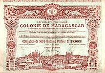 Madagascar-French colonization-Colonie de Madagascar 1897