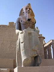 Colossus of Ramesses II restored