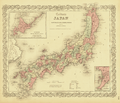 Colton's Japan- Nippon, Kiusiu, Sikok, Yesso and the Japanese Kuriles WDL75.png
