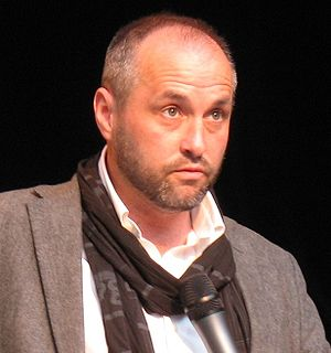 Colum McCann at the International Forum on the...