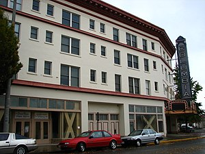 National Register of Historic Places listings in Cowlitz County, Washington - Image: Columbia Theater Longview Washington