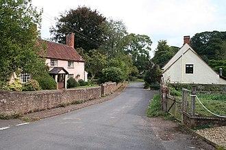 Combe Florey - Image: Combe Florey village street geograph.org.uk 56115