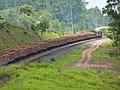 Comboio que passava sentido Guaianã pelo pátio da Estação Ferroviária de Salto - Variante Boa Vista-Guaianã km 211 - panoramio.jpg