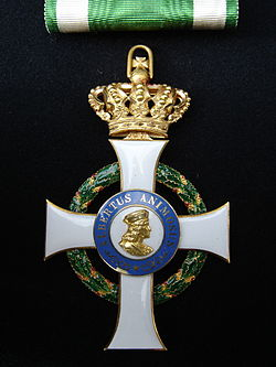 Comendador 2a classe Real Ordem de Albert Valoroso de Saxonia recto.JPG
