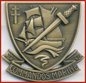 Commandos Marine - Image: Commando marine béret V2