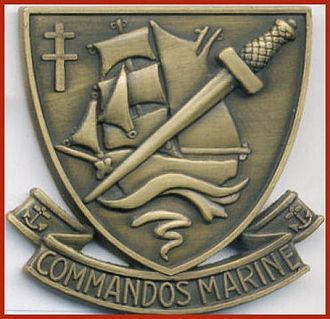 Commandos Marine - Commando beret badge