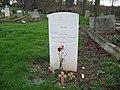 Commonwealth War Grave in Jarrow Cemetery (WW2-18) - geograph.org.uk - 1604862.jpg
