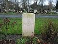Commonwealth War Grave in Jarrow Cemetery (WW2-46) - geograph.org.uk - 1605432.jpg