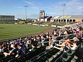 Community America Ballpark view from right sideline stands.JPG