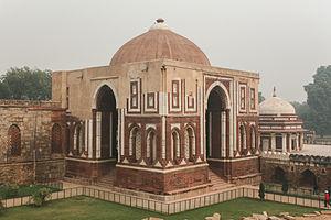 History of South Asian domes - The Alai Dawarza in Delhi.