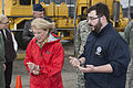 Congresswoman Shelley Moore Capito, left, meets with Peter Herrick Jr., an external affairs program specialist with the Federal Emergency Management Agency, in Charleston, W.Va., Jan. 11, 2014 140111-Z-HL234-001.jpg