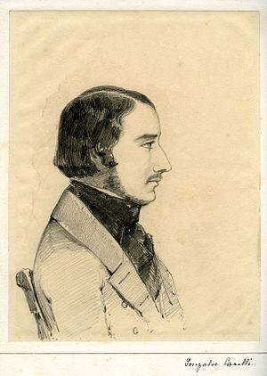 Consalvo Carelli - Portrait of Consalvo Carelli