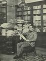 Conselheiro José Luciano de Castro, Presidente do Conselho, no seu gabinete de trabalho - Brasil-Portugal (1Jun1899).png