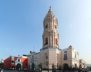 Basilica of Santo Domingo, Lima Church in Lima, Peru