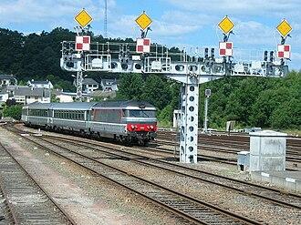 Gare d'Ussel - Image: Corail ventadour