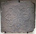Corea, piastrella decorata col fior di loto, epoca dei tre reami, V-VI sec.JPG